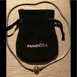 "Pandora 16"" Necklace Gold Clasp"